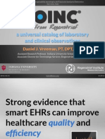 2013 10 11 - LOINC Introduction and relevance to eHealth Standards
