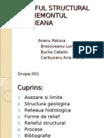 Relieful Structural Din Piemontul Cotmeana