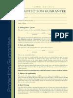 Homesellers Protection Guarantee