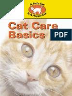 Safe Cats Cat Care Basics