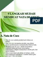 10102013. 9 Langkah Mudah Membuat Nata de Coco. Rev 01