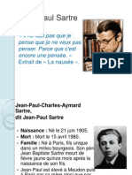 Jean Paul Sartre Expo