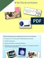 Integración de las Tics al currículum