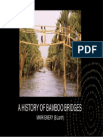A History of Bamboo Bridges