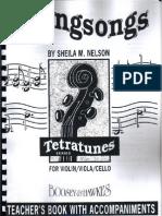 Stringsongs by Sheila Nelson(String-Quartet Violin Viola Cello Level Intermediate)1