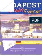 Budapest Guide 2004 (German)