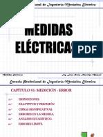 Cap I.  Medidas Eléctricas Medic.