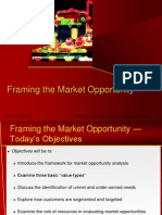 Framing Market Opportunity