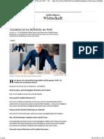 """Städteplaner Albert Speer_ """"Frankfurt ist ein Modell für die Welt"""" - Wirtschaft - FAZ"""