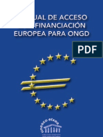 Manual Financiacion Europea