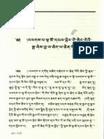 Srimaladevi Sutra Tibetan (Pedurma edition)