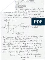 Introduction to Nonlinear Analysis of Structures