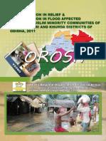 Odisha Disaster Discrimination Flood Study 2011