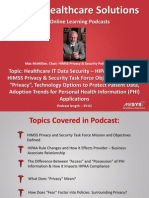 Health IT Data Security – An Overview of Privacy, Compliance, and Technology Options