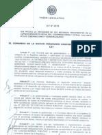 Ley 2979-06 Aplicacion de Royalties