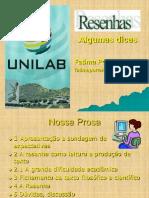 Resenha Alunos Artemis Unilab 27.09.11