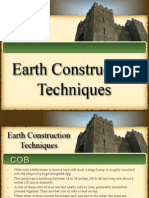 Earth Construction Techniques