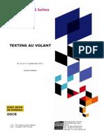 Texting au Volant