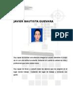 Javier Hoja de Vida