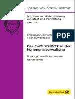 Der E-POSTBRIEF in der Kommunalverwaltung - Einsatzoptionen für kommunale Fachverfahren