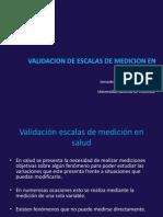 validacion escalas