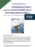 Strategie di Marketing per Creare e Lanciare un Nuovo Prodotto