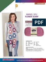 e13 13 Marvel Flower Scarf Ps