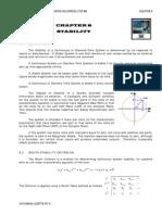 Summary of Stability in Feedback Control Systems