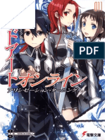 Sword Art Online 14 Alicization Uniting Pdf