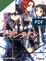 Sword Art Online 11 - Alicization Turning