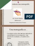Guia Para Redactar Una Monografia