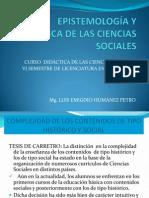 PRESENTACIÓN 2.EPISTEMOLOGÍA Y DIDÁCTICA DE LAS CIENCIAS SOCIALES