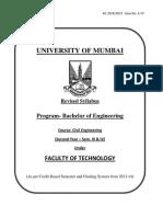 civil engg syllabus of mumbai university