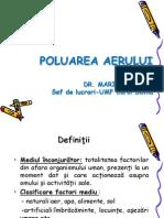 POLUAREA AERULUI - Curs UMFCD