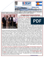 COESGR Newsletter October 2013