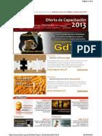 Capacitación fpnt 2013