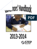 STEP Governors' Handbook, 2013-2014
