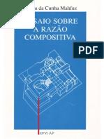 Ensaio Sobre a Razão Compositiva - Edson da Cunha Muhfuz