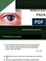 Anestesi Pada Operasi Mata