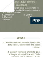 Early Reform Movements (1)