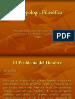 antropología problema del hombre