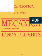 Curso de Fisica Teorica - Vol 1 - Mecanica