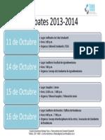 Debates 2013-2014