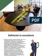 Consideraciones de La Consultoria Terminado