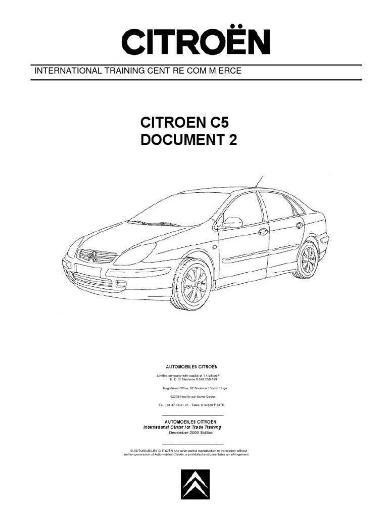 C5_Doc_2 fr en pdf | Headlamp | Car