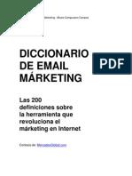 Diccionario de Mail Mkt