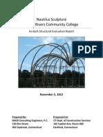 TRCC Nautilus Sculpture Final Draft Report (11/5/12)