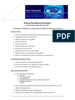 business development stimulator update 2013 potentials realized