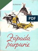 Zapada Purpurie de Nadejda Belinovici Colectia Traista Cu Povesti.