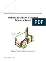 c2TR Version 5.10 CAESAR II Technical Reference Manual